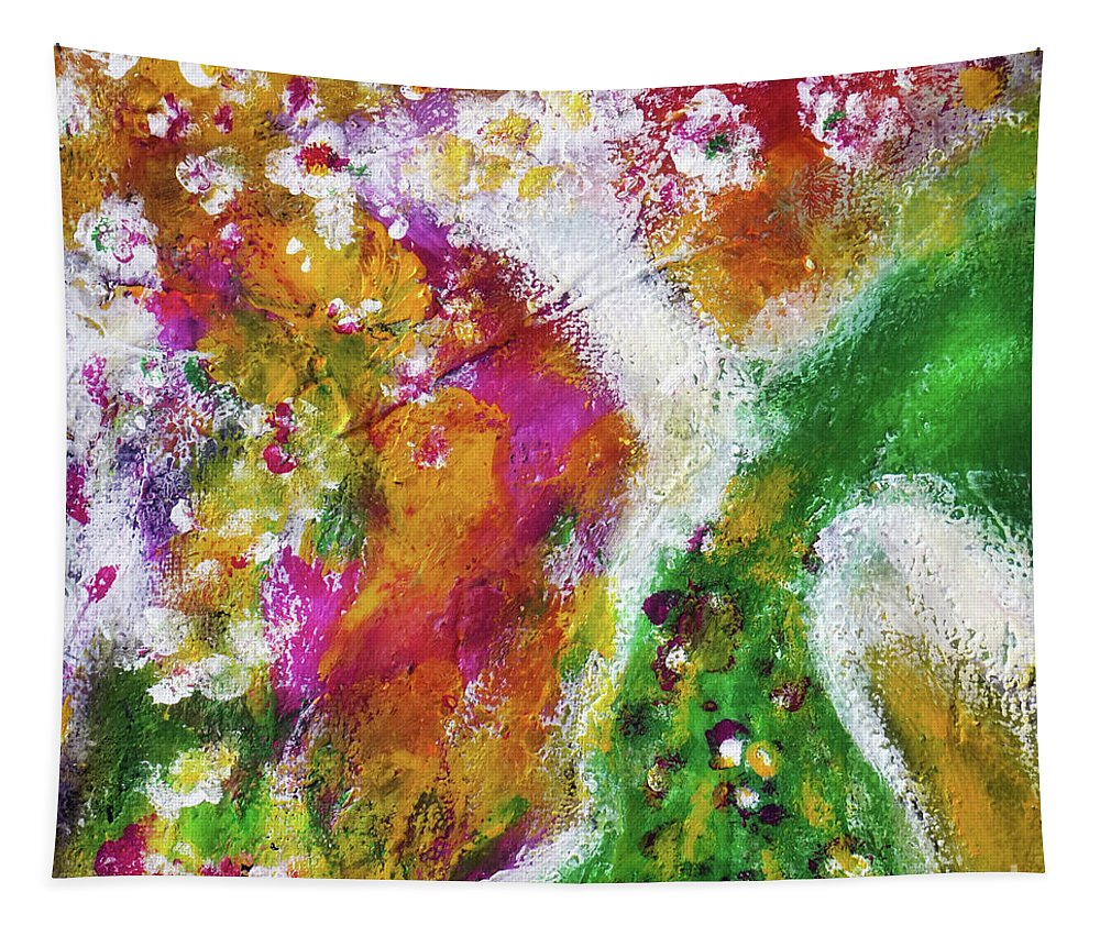 Tapestry featuring the painting The Dance by Eloma Life
