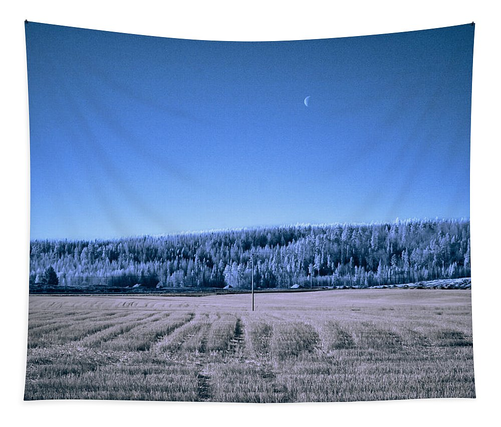 Finland Tapestry featuring the photograph The Field by Jouko Lehto