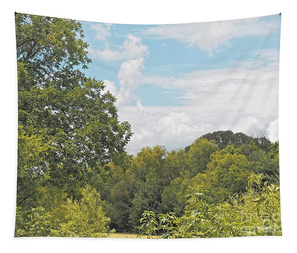 The Great Outdoors Tapestry featuring the photograph The Great Outdoors by Gary Richards