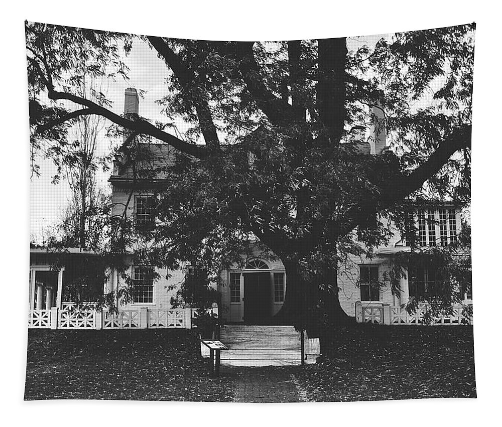 Saint-gaudens National Historic Site Tapestry featuring the photograph The Main House by Nps