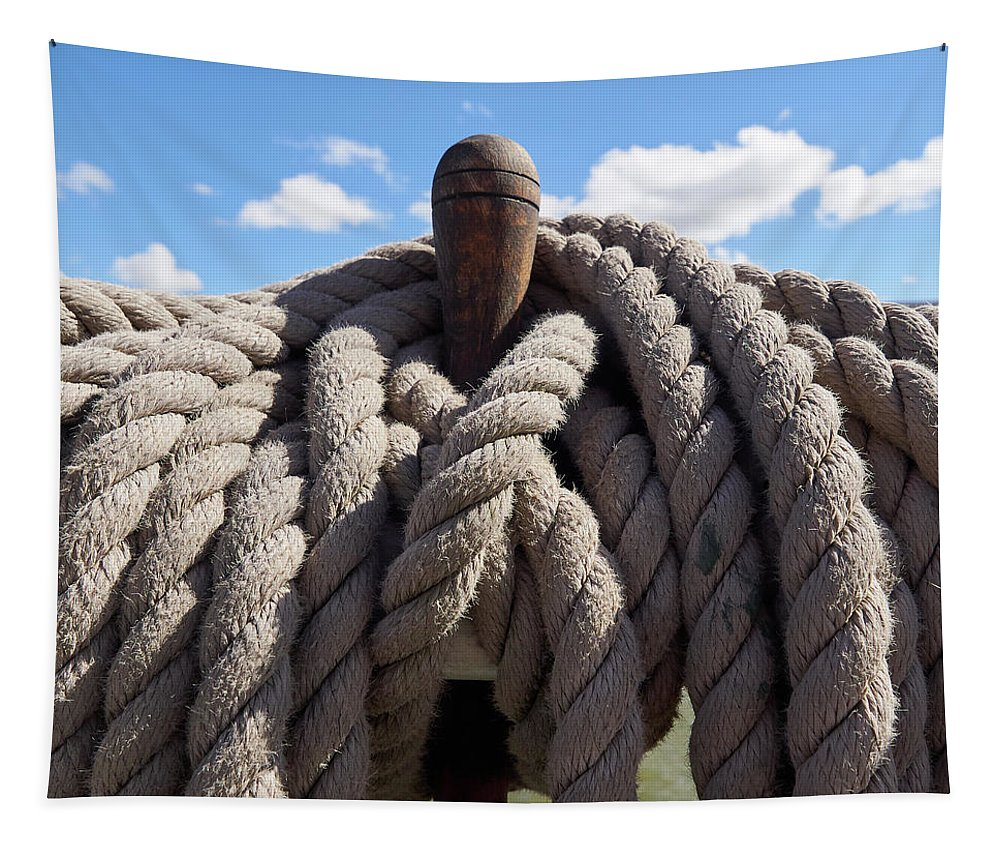Finland Tapestry featuring the photograph The Ropes by Jouko Lehto