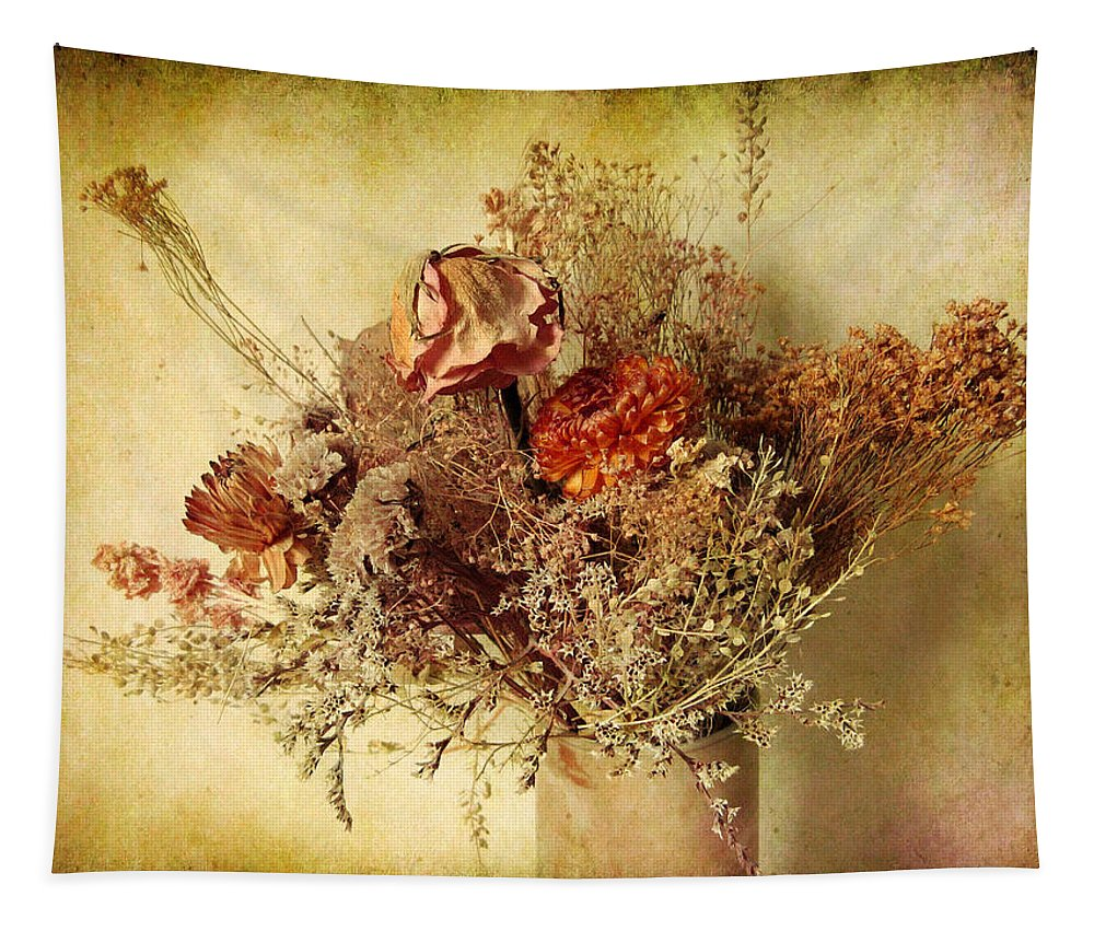 Vintage Tapestry featuring the photograph Vintage Still Life by Jessica Jenney