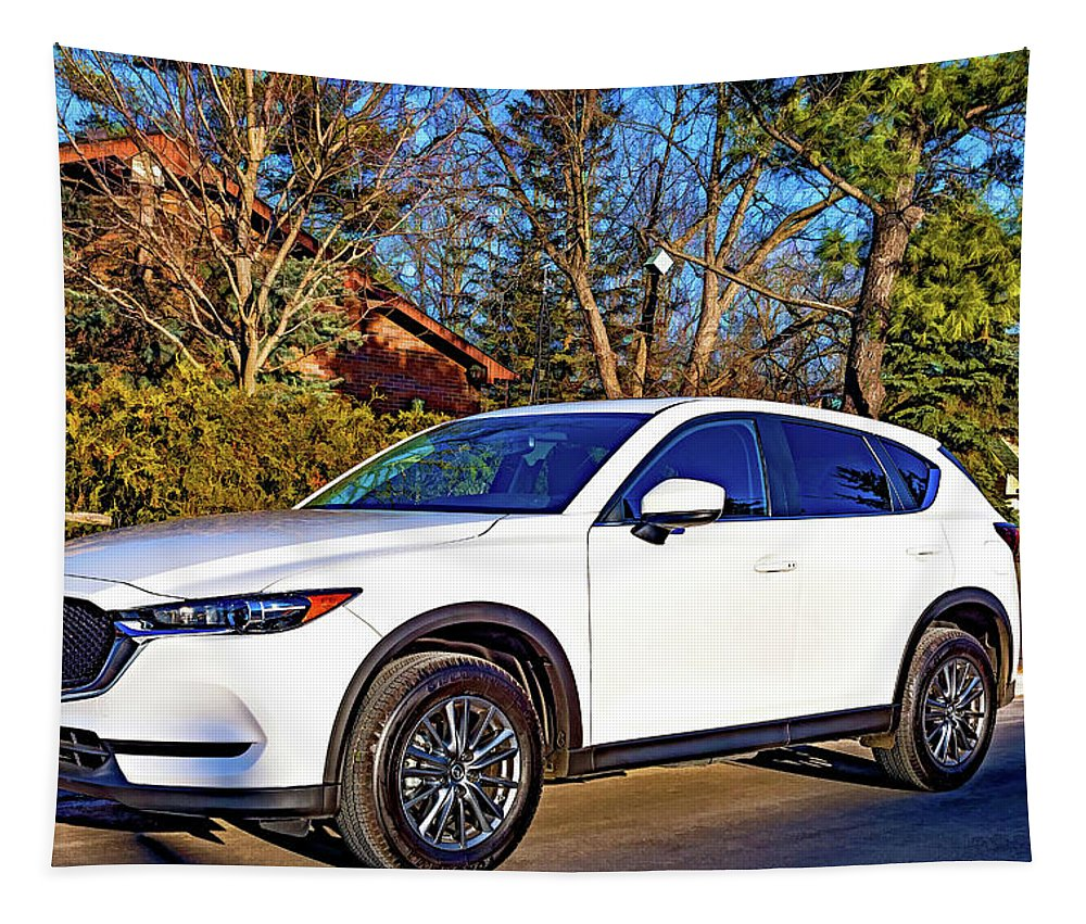 Mazda Tapestry featuring the photograph Zoom Zoom by Steve Harrington