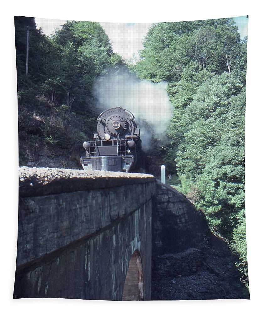 1218 Tapestry featuring the photograph 1218 At Mill Creek by Gordon Mooneyhan