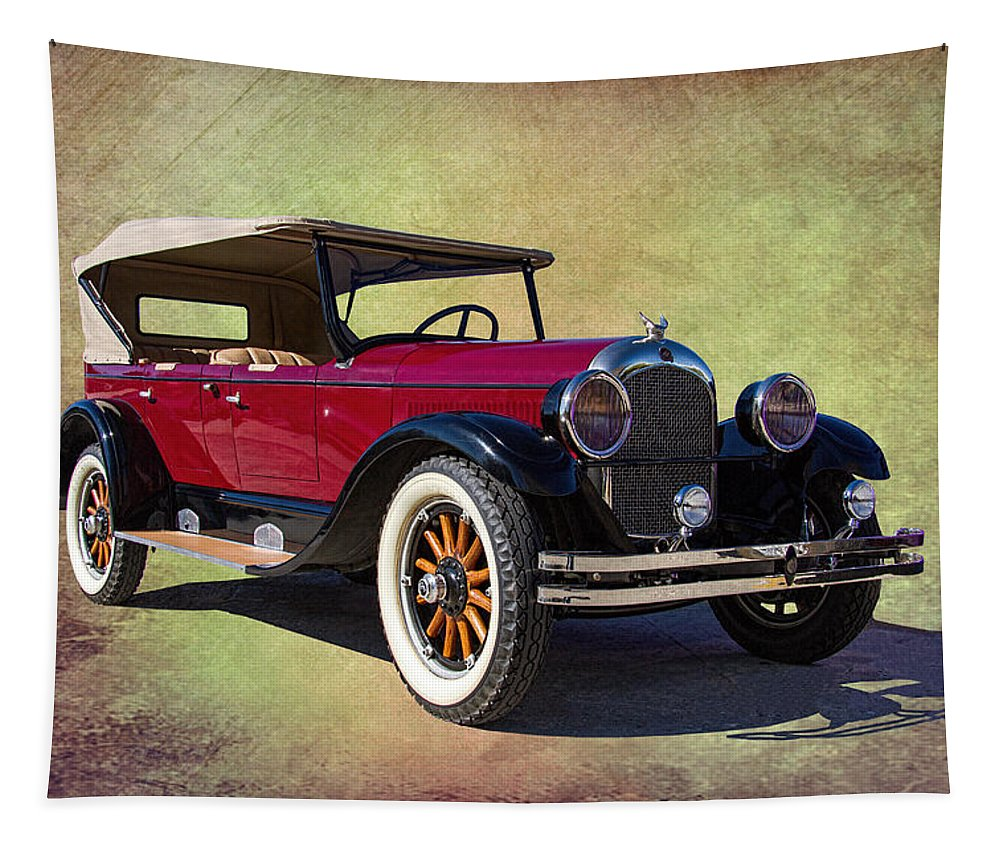 1926 Tapestry featuring the photograph 1926 Chrysler by Nick Gray