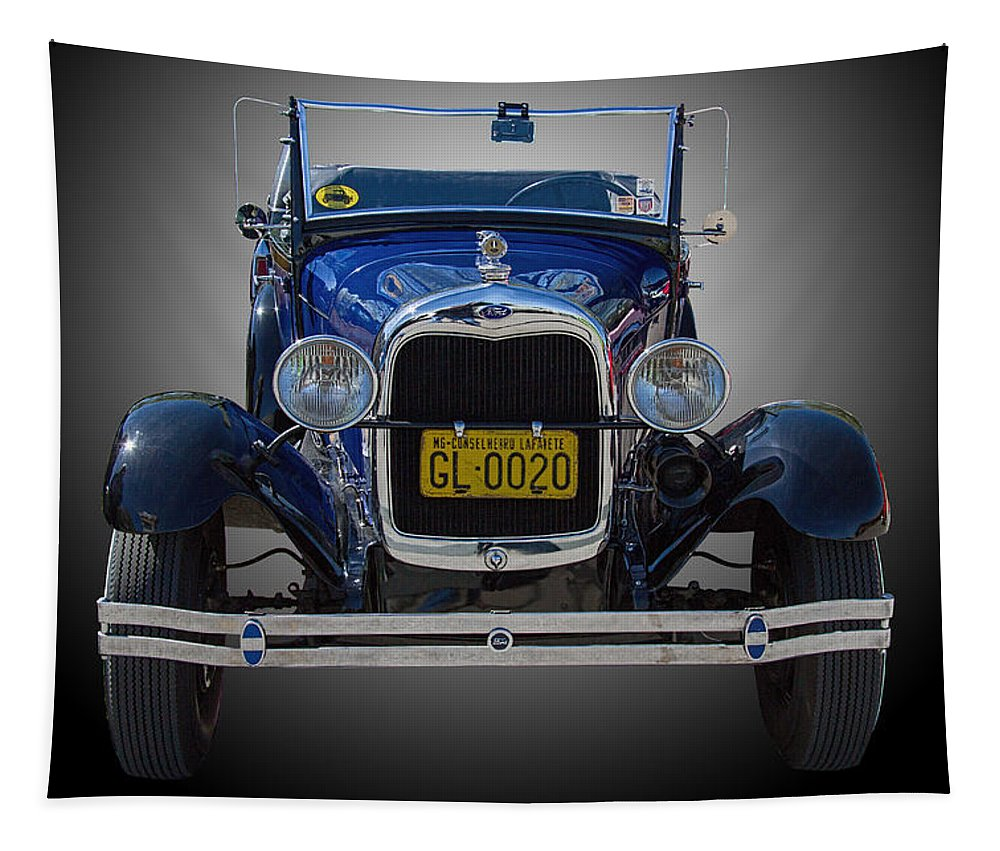 1929 Tapestry featuring the photograph 1929 Model A Ford Convertible by Nick Gray