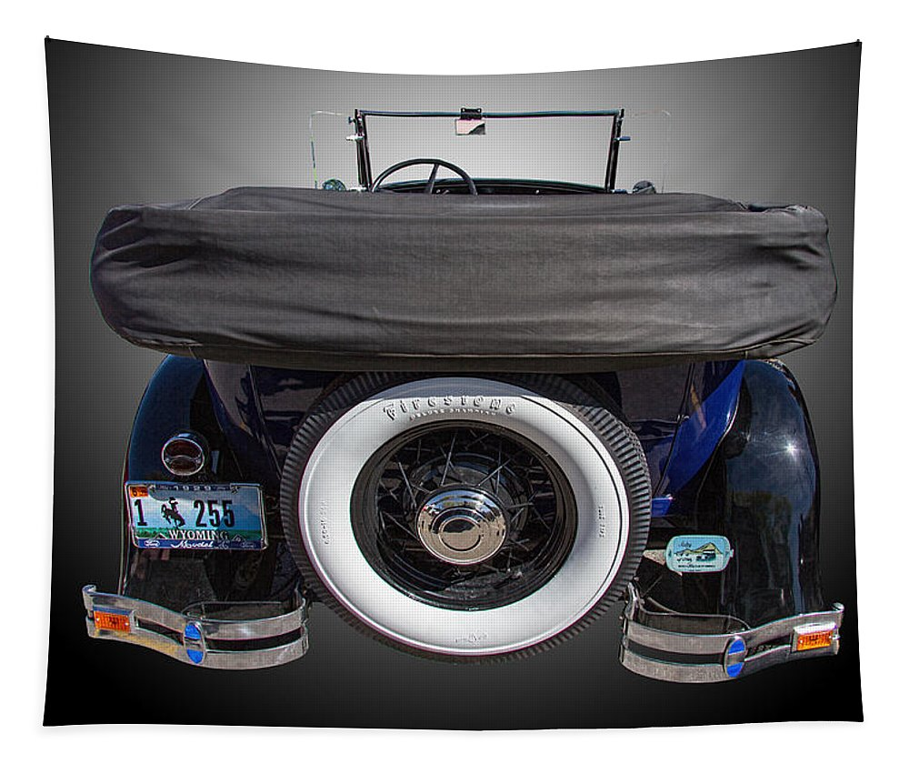 1929 Tapestry featuring the photograph 1929 Model A Ford by Nick Gray