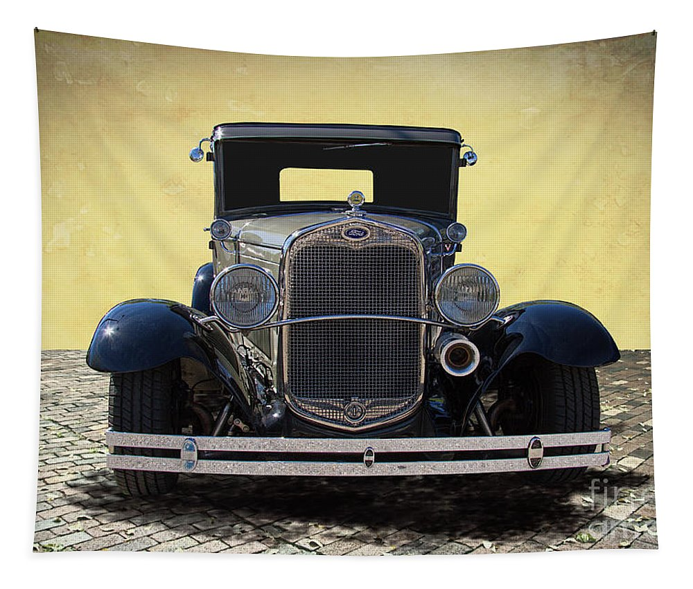 1931 Tapestry featuring the photograph 1931 Ford Model A Coupe by Nick Gray