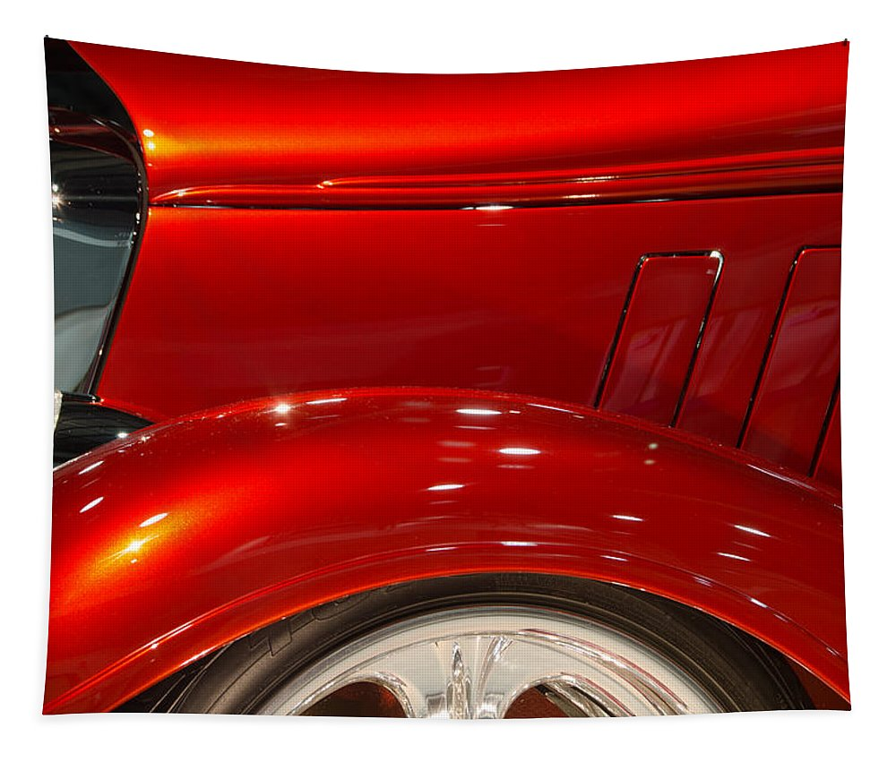 Chevy Tapestry featuring the photograph 1933 Chevy Custom Roadster by Don Schwartz