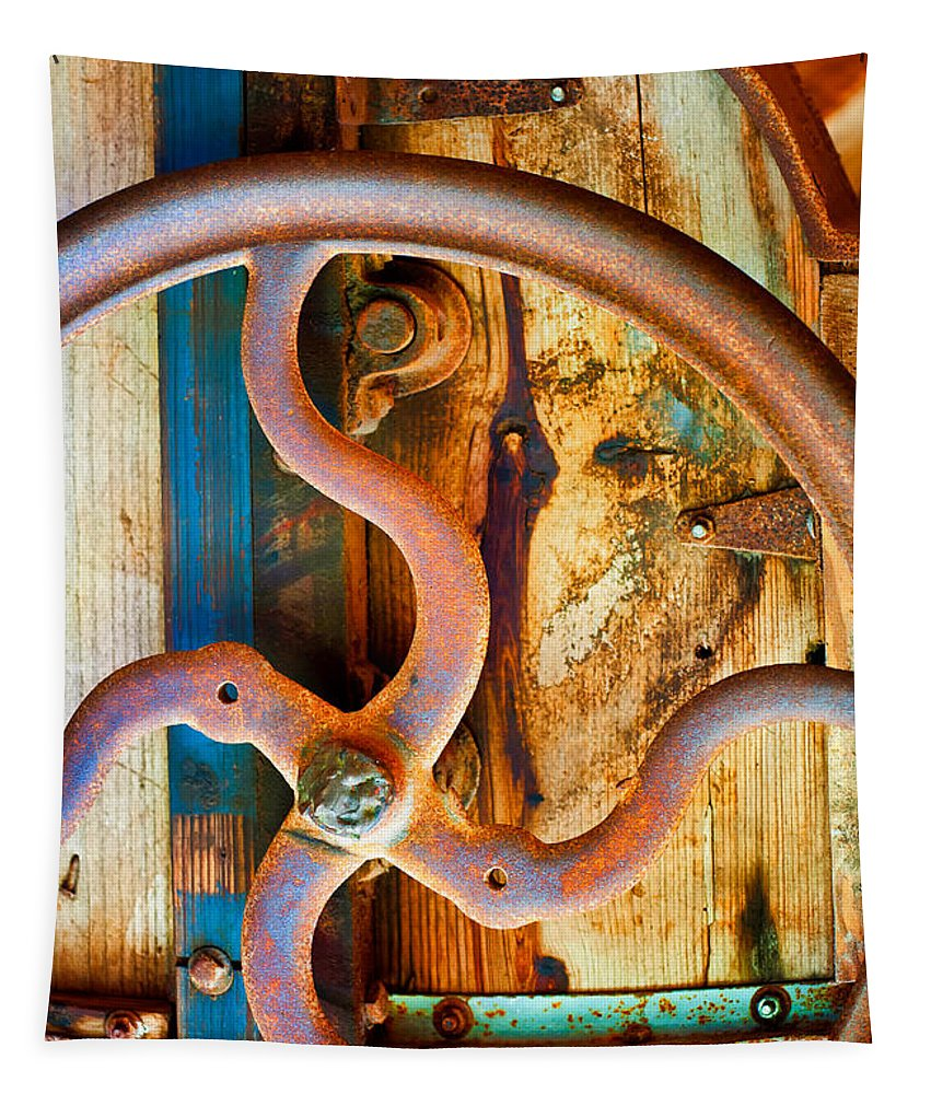Metal Tapestry featuring the photograph Curves And Lines by Stephen Anderson
