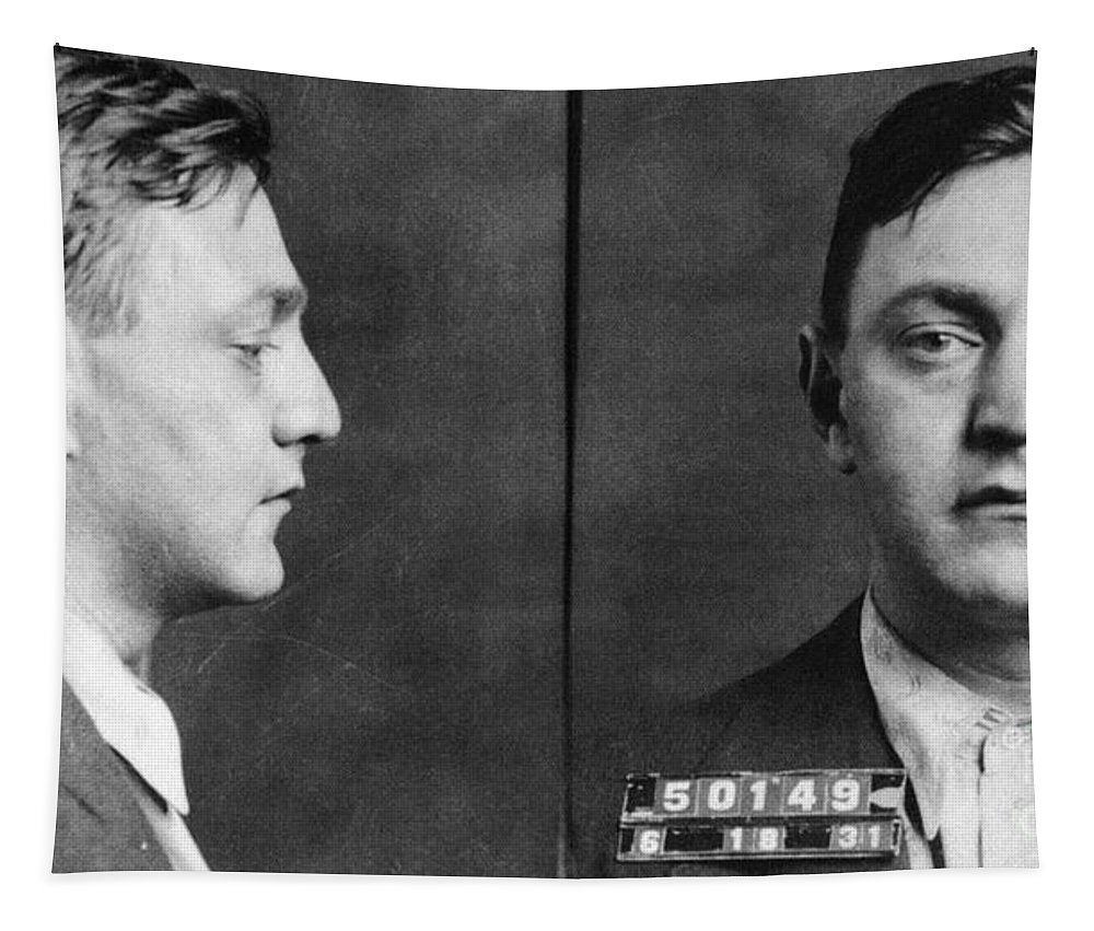 1931 Tapestry featuring the photograph Dutch Schultz (1902-1935) by Granger