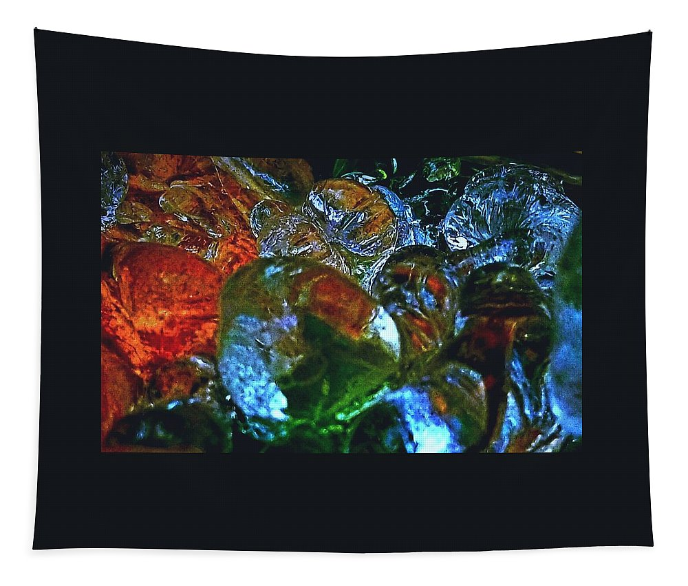 Ice Tapestry featuring the photograph Icester Eggs by Uther Pendraggin