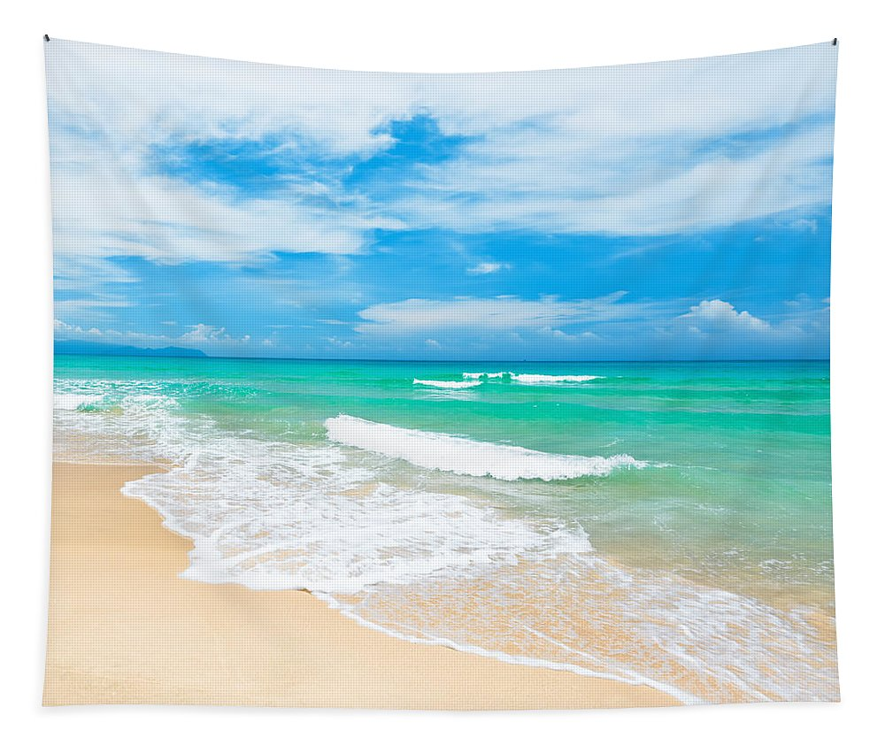 Beach Tapestry featuring the photograph Beach by MotHaiBaPhoto Prints