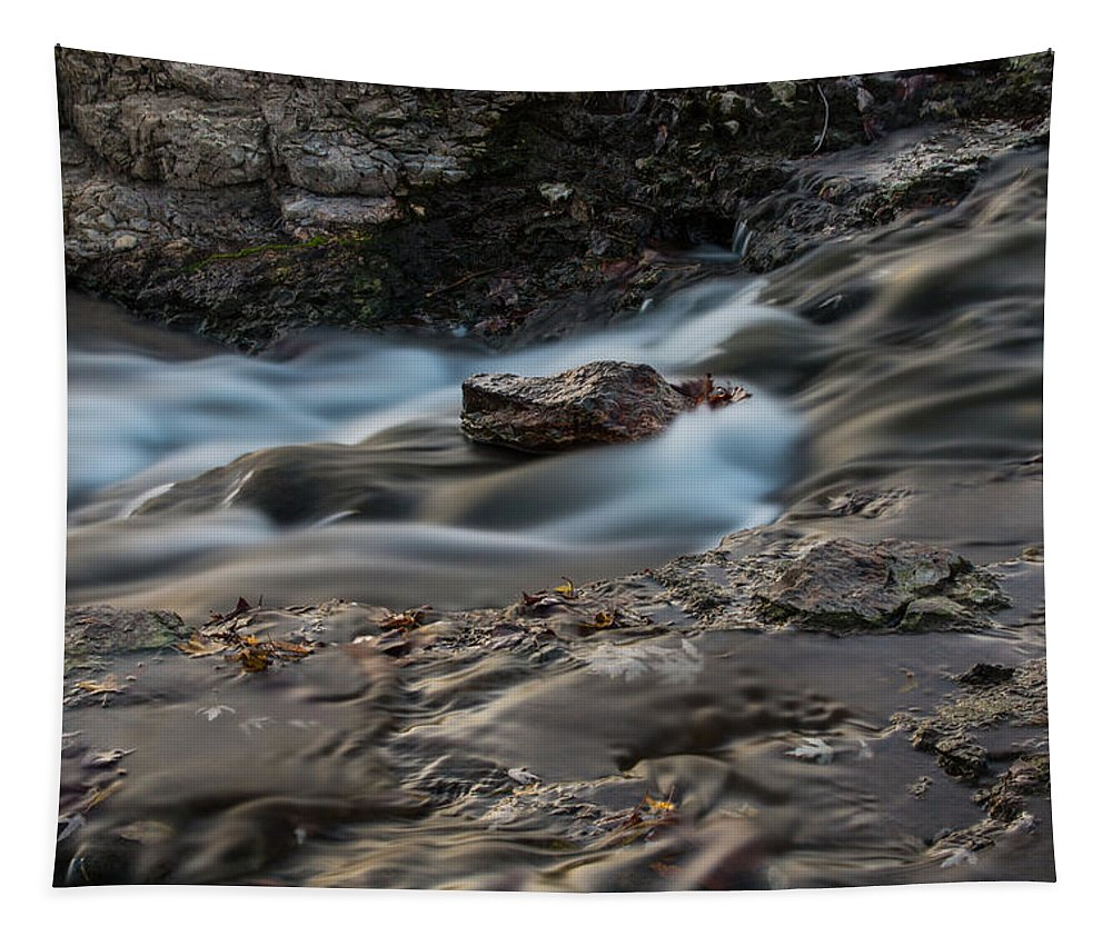 Grand Falls Tapestry featuring the photograph Grand Falls Waterfall by Michael Munster