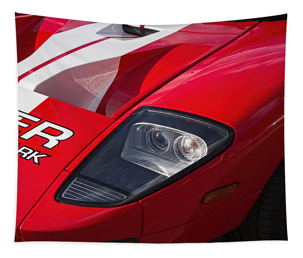 Ford Tapestry featuring the photograph Ford Gt by Nick Gray