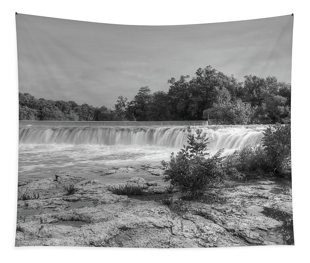 Grand Falls Tapestry featuring the photograph Grand Falls by Michael Munster
