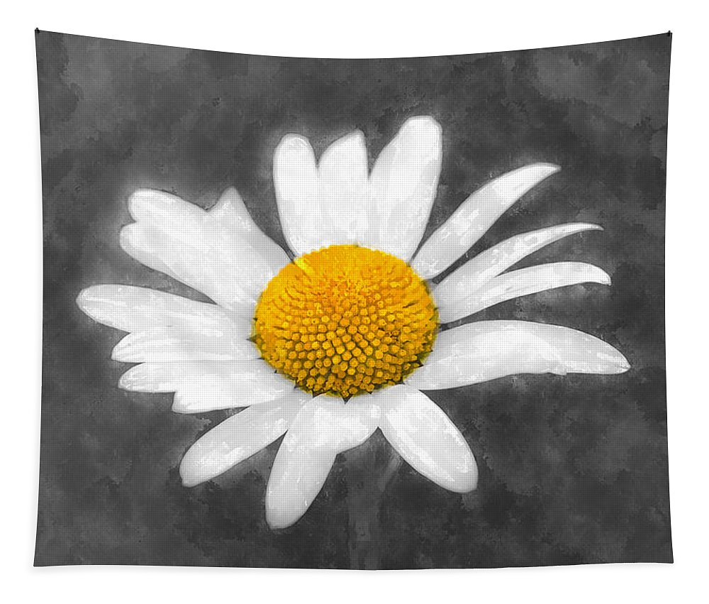 Chamomile Tapestry featuring the photograph Chamomile Watercolor by David Pyatt