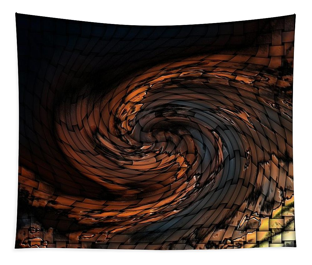 Digital Art Tapestry featuring the photograph Abstract by Belinda Cox