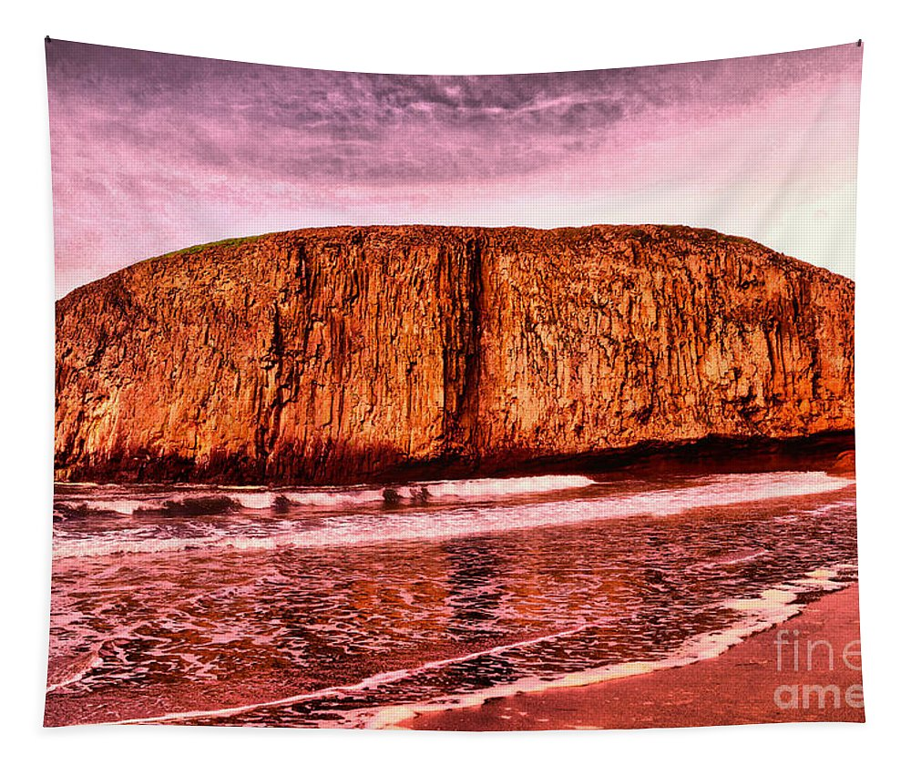 Beach Tapestry featuring the photograph A Day At The Beach by Jeff Swan