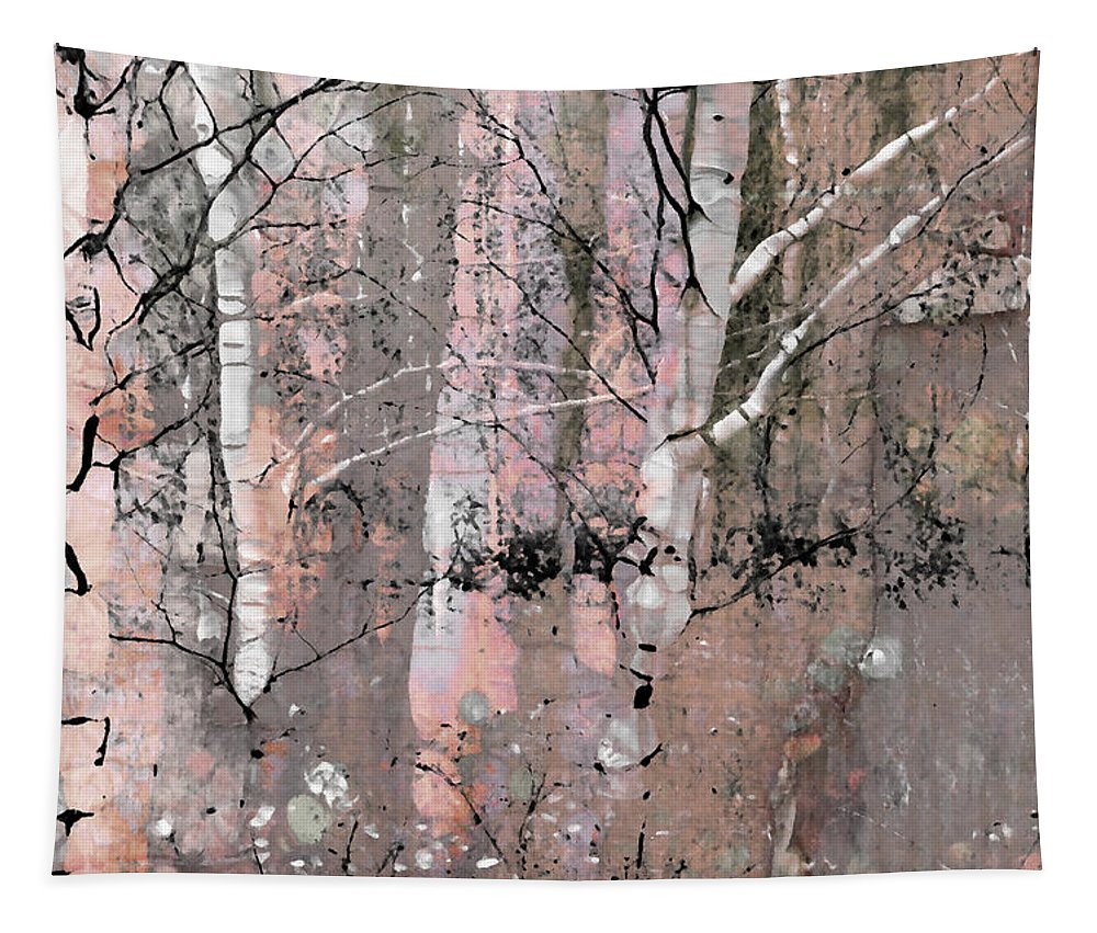 Tree Tapestry featuring the photograph A Hint Of Pink by Tara Turner