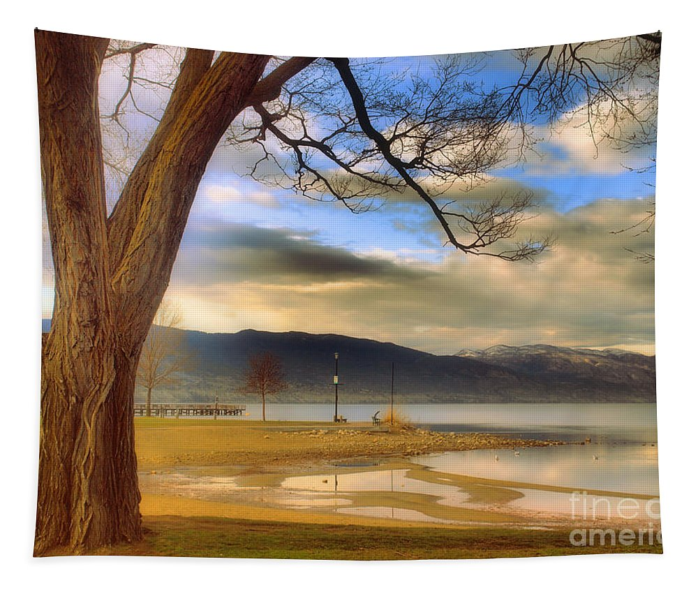 Okanagan Tapestry featuring the photograph A March Morning by Tara Turner
