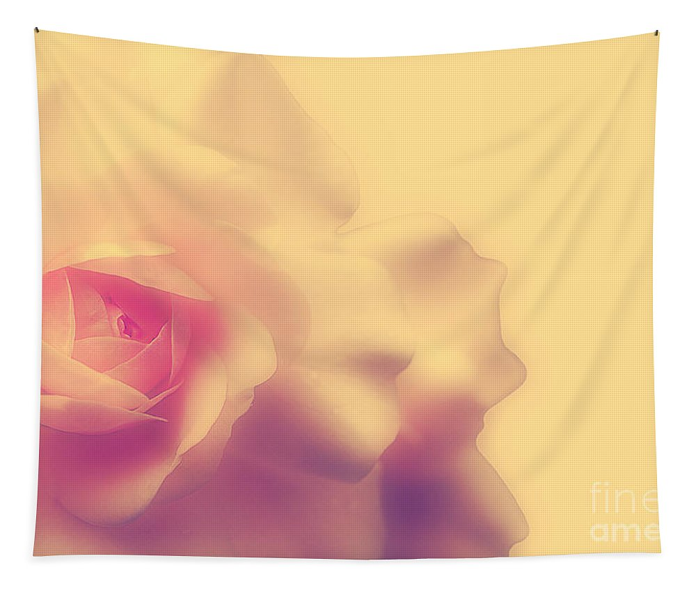Rose Tapestry featuring the photograph A New Day by Lois Bryan