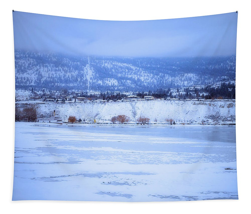 Penticton Tapestry featuring the photograph A Penticton Winter by Tara Turner