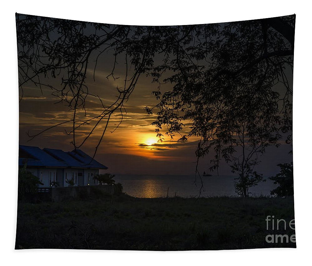 Michelle Meenawong Tapestry featuring the photograph A Place To Stay by Michelle Meenawong