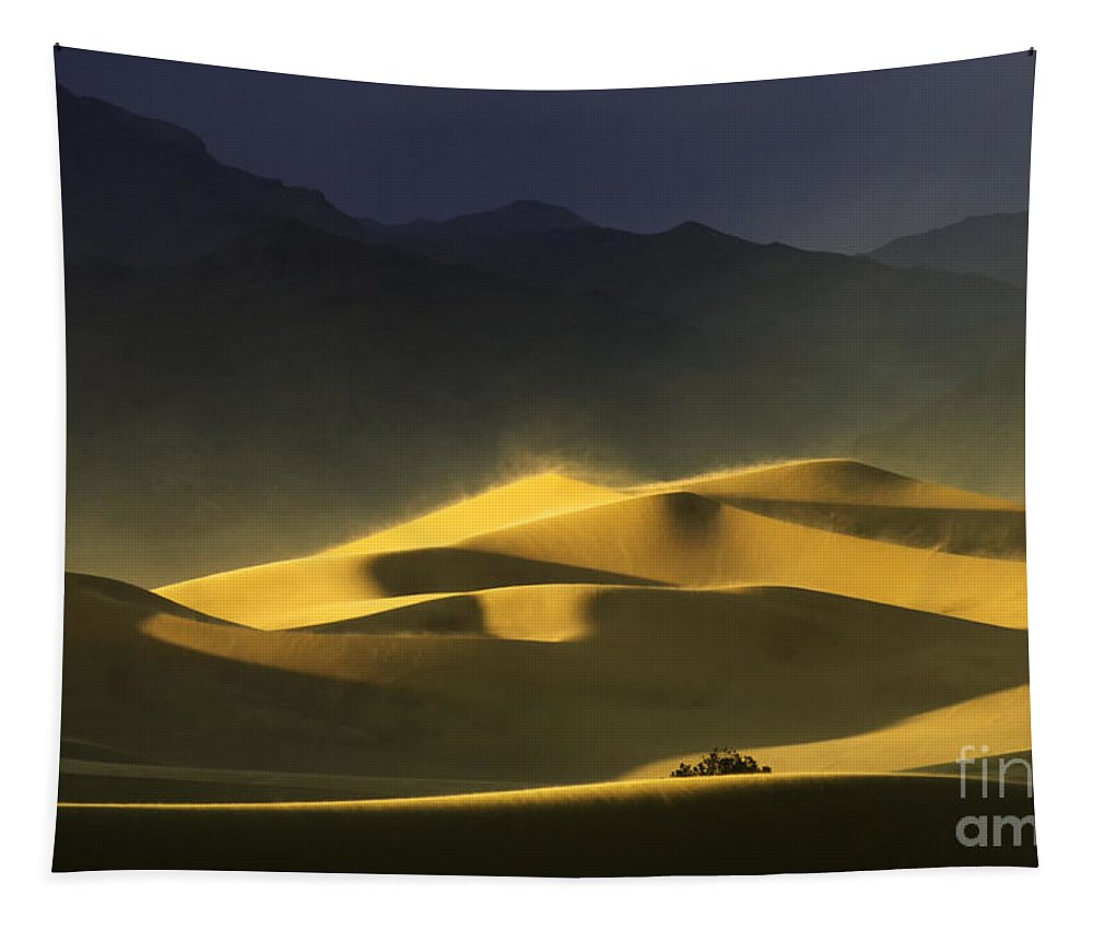Death Valley Tapestry featuring the photograph A Quiet Place by Bob Christopher