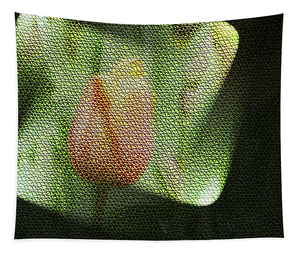 Tulips Tapestry featuring the photograph A Tiled Tullip by Jeff Swan