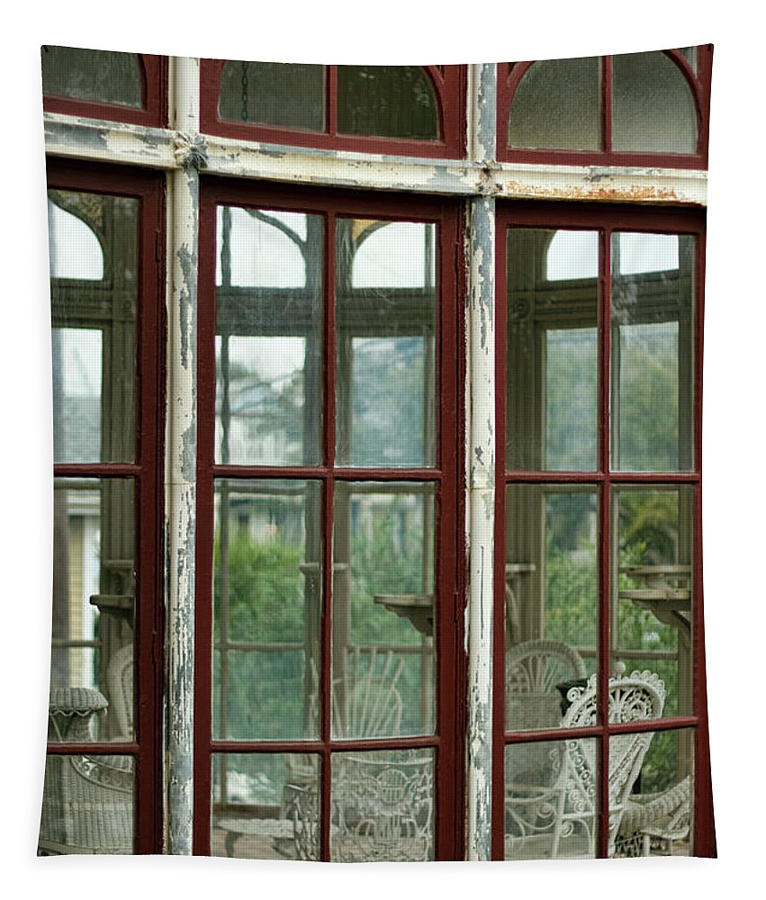 Conservatory Tapestry featuring the photograph A View Into The Past by Debby Richards