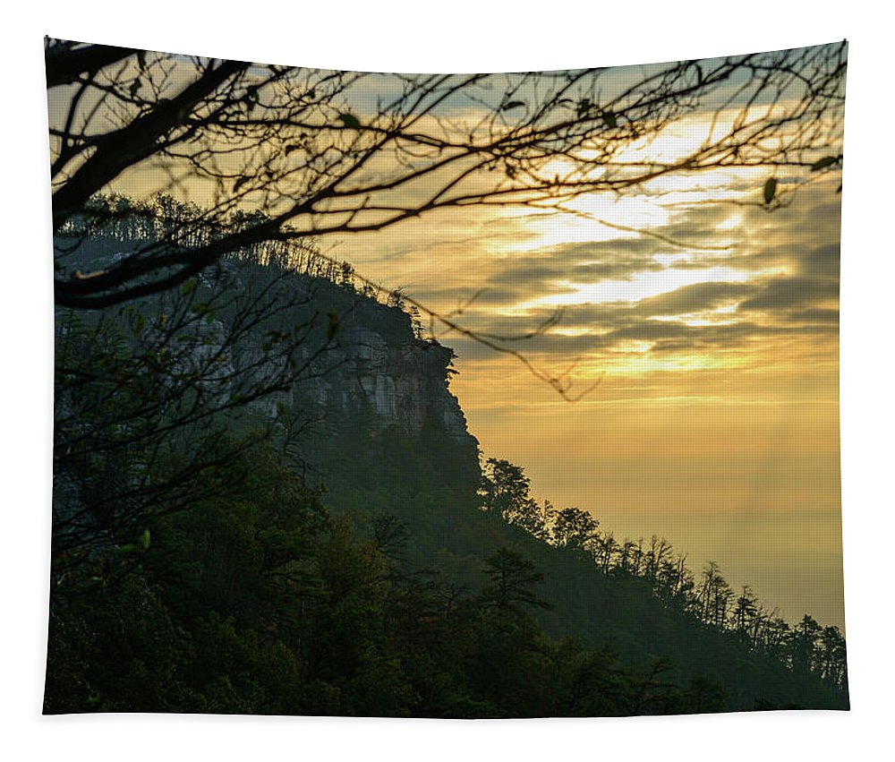 Fall Tapestry featuring the photograph A Warm Autumn Morning by Michael Scott