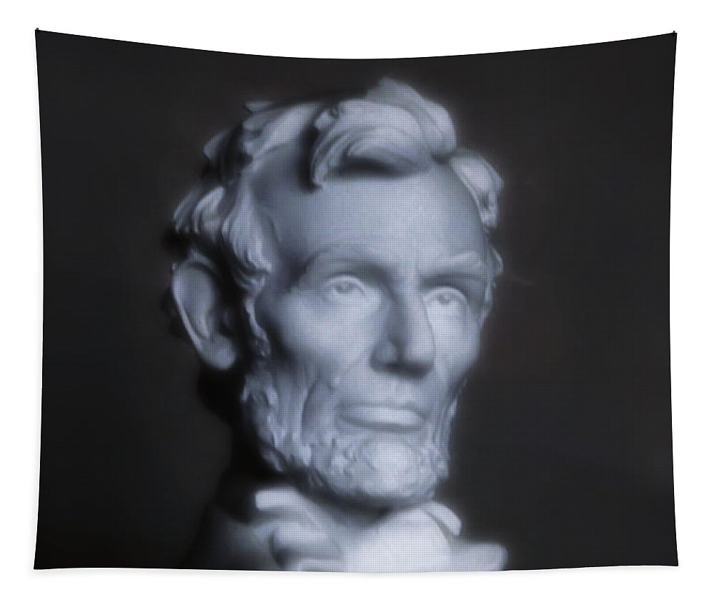 Lincoln Memorial Tapestry featuring the photograph Abraham Lincoln by Bill Cannon