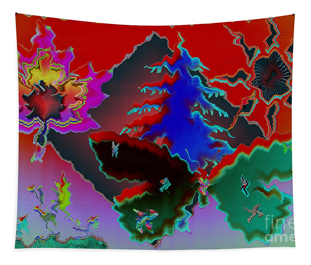 Abstract Tapestry featuring the photograph Absract by Donna Brown