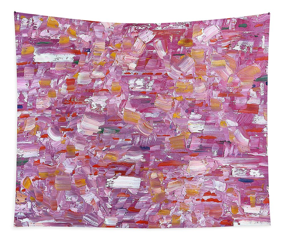 Abstract Tapestry featuring the painting Abstract 467 by Patrick J Murphy