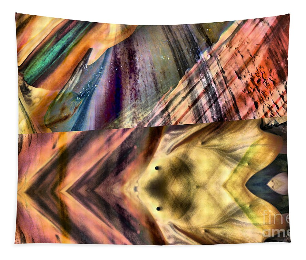 Abstract Tapestry featuring the photograph Abstract Nito An Abstract by Jeff Swan