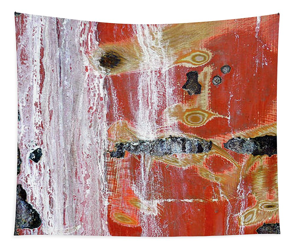 Mug Tapestry featuring the digital art Abstract Painting Mug by Edward Fielding