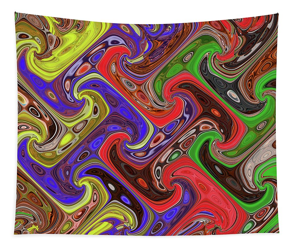 Added Colors Tapestry featuring the photograph Added Colors by Tom Janca