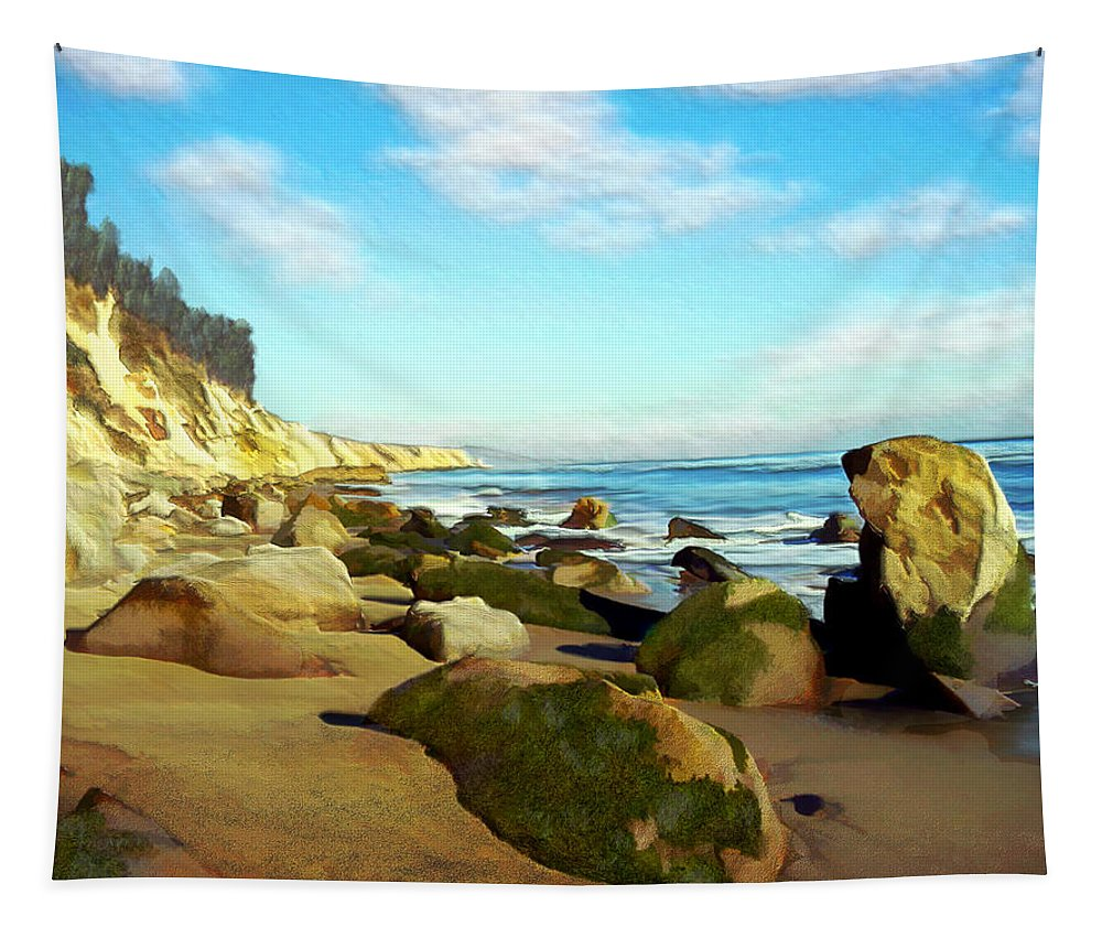 Ocean Tapestry featuring the photograph After The Fog Gaviota by Kurt Van Wagner