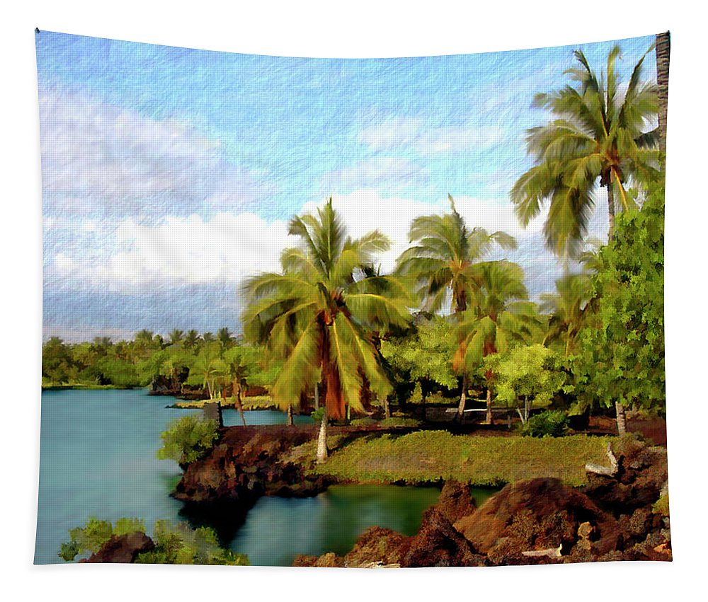 Hawaii Tapestry featuring the photograph Afternoon At Mauna Lani Hawaii by Kurt Van Wagner