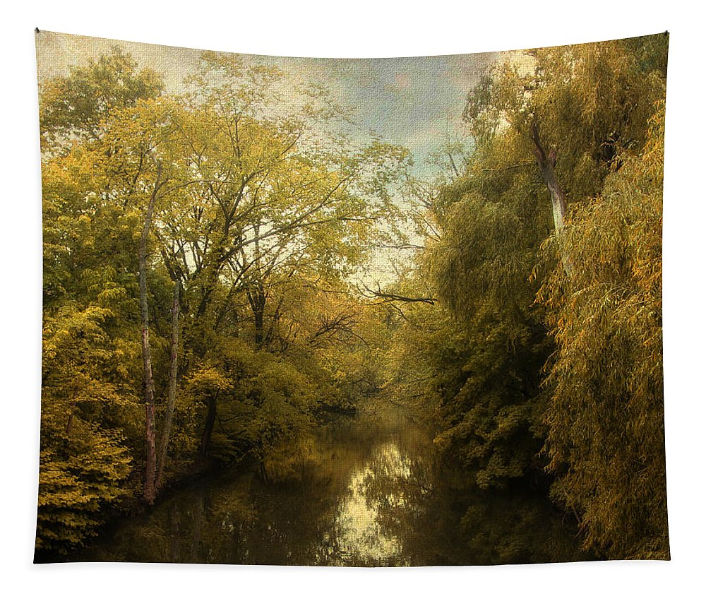 Nature Tapestry featuring the photograph Afternoon Serenity by Jessica Jenney