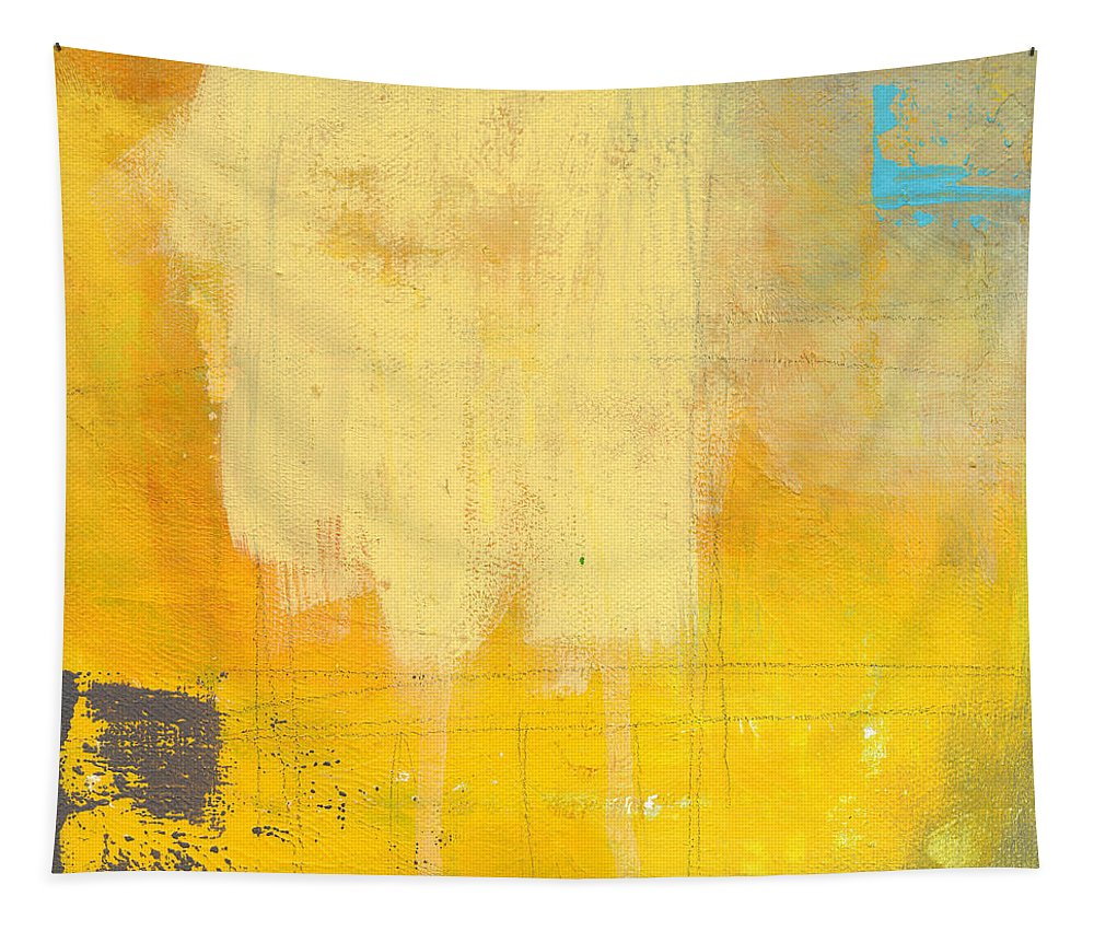 Abstract Tapestry featuring the painting Afternoon Sun -Large by Linda Woods