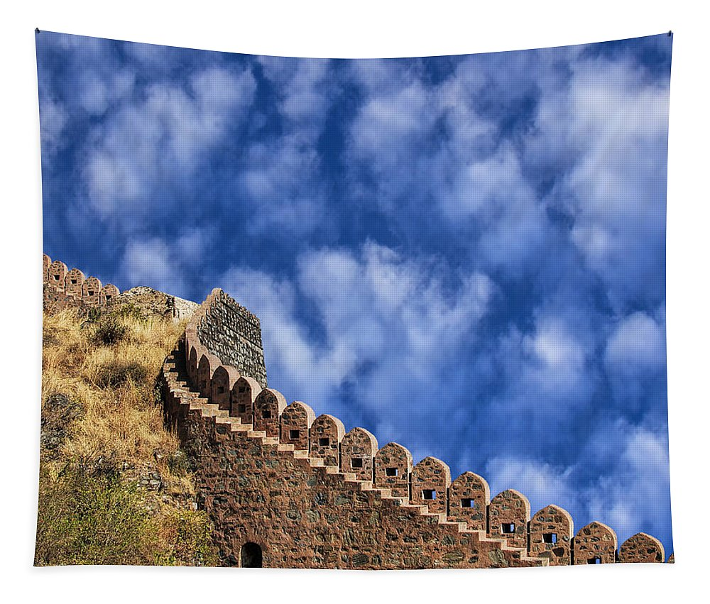 Watchtower Tapestry featuring the photograph All Along The Watchtower by Dominic Piperata