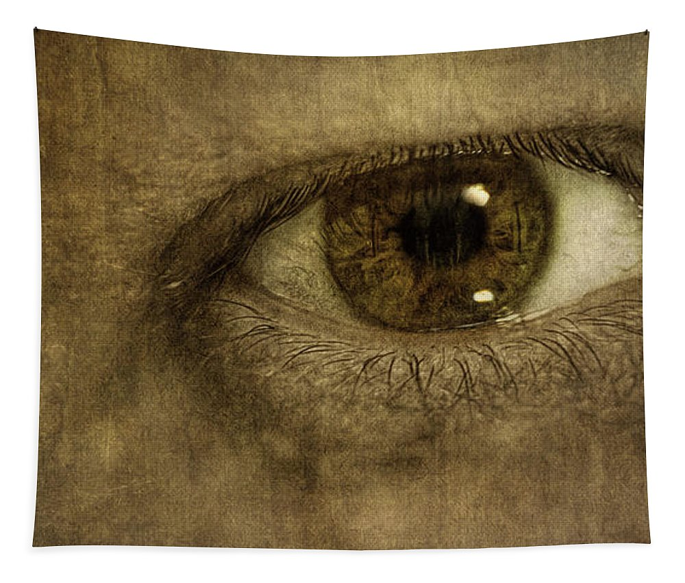 Scott Norris Photography Tapestry featuring the photograph Always Watching by Scott Norris