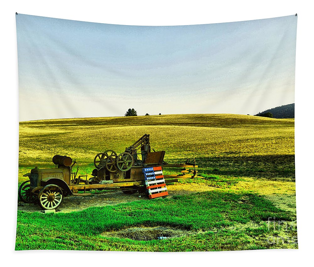 Americana Tapestry featuring the photograph Americana by Jeff Swan