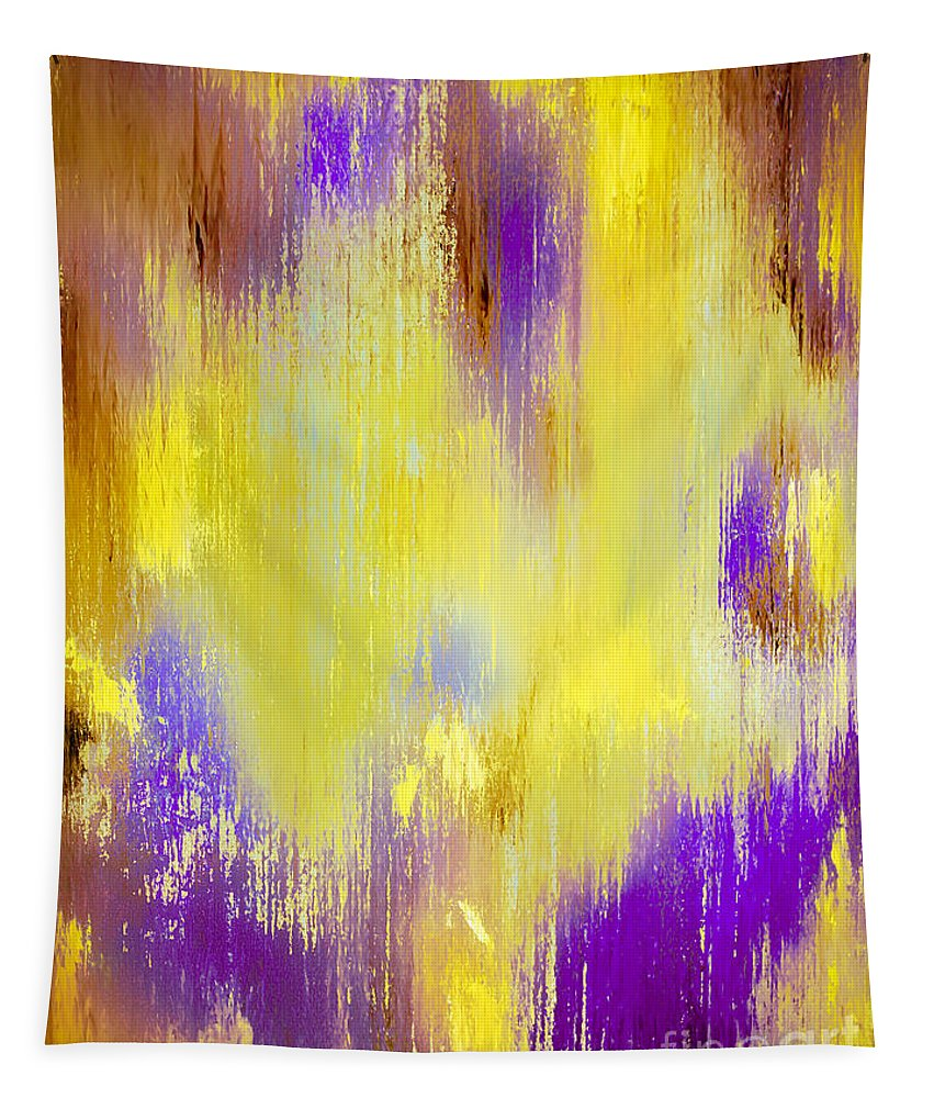 Abstract Tapestry featuring the painting An Angels Voice by Wayne Cantrell