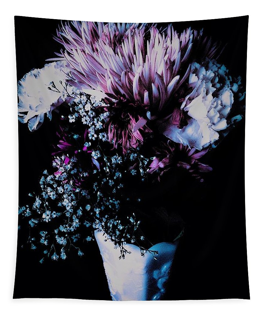 Floral Tapestry featuring the photograph An Eternity by Debra Lynch