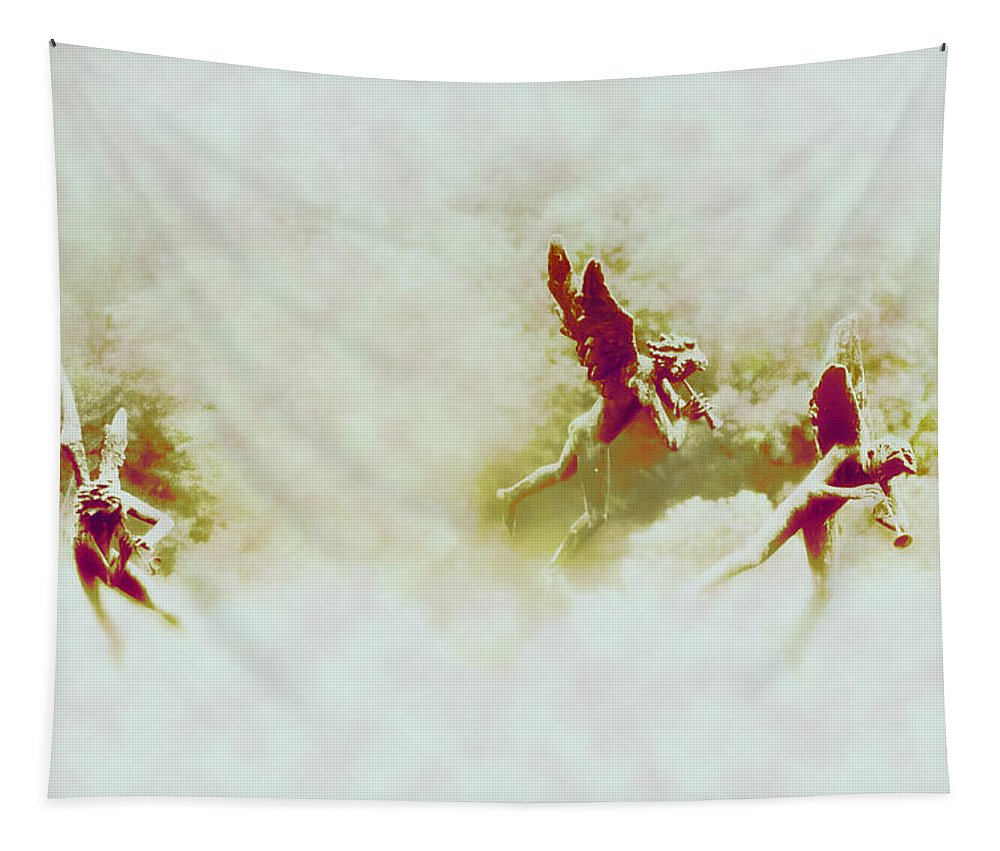 Angels Tapestry featuring the photograph Angel Song by Bill Cannon