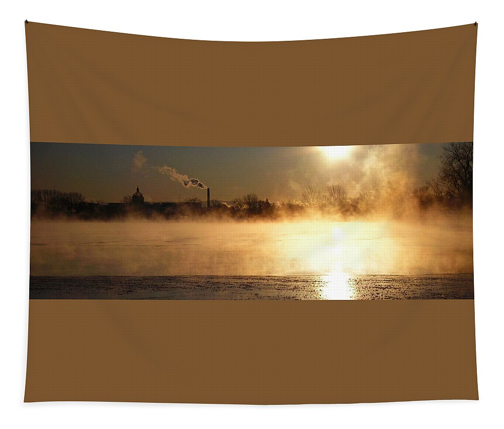 North America Tapestry featuring the photograph Another Cold Day by Juergen Weiss