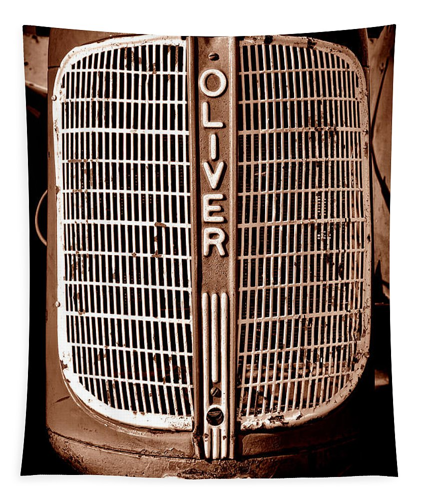 Oliver Tapestry featuring the photograph Antique Oliver 70 by Olivier Le Queinec